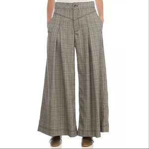 Free People Extreme Tailored Wide Leg Pants 6